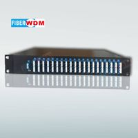 C-band 80 channels   MUX/DEMUX Athermal AWG module in DWDM system.