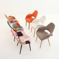 Organic soft cover chair