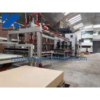 short cycle hot press/melamine laminating line/hot press machine thumbnail image