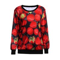 Crew Neck Hoodies Custom Sublimation Hoodies/Sweatshirts