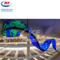 Creative Indoor Curved Convex Concave LED Display