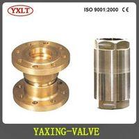 Proportion type pressure reducing valve