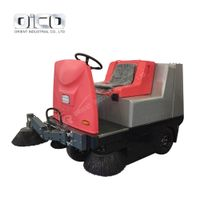 New Electric Fuel C350 Vacuum Road Sweeper Ride On Compact Street Floor Sweeping Machine thumbnail image