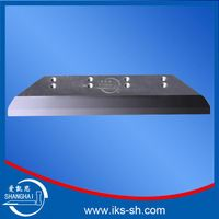 Inlaid and solid three way trimmer blade for paper cutting