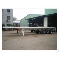40FT 3AXLE FLATBED CONTAINER SEMI TRAILER
