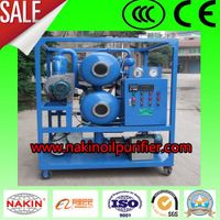 ZYD double stages vacuum insulating oil purifier