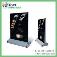 Yori table top mini roll up banner stand