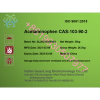 Factory supply Acetaminpphen CAS 103-90-2 with good quality +86 19930507977