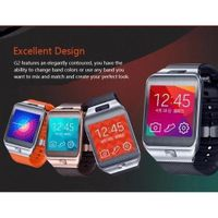 New Bluetooth Heart Rate Smart Watch Hg2 with Rear Camera Vibration Mode For Android Smartphones