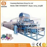 Energy saving paper egg tray machine with CE