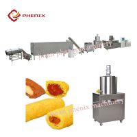 pillow core filling snacks food extruder making machines thumbnail image