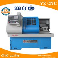 High quality CK6136 flat bed type cnc lathe machine