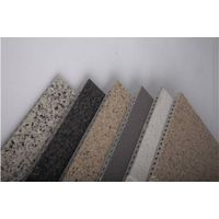 intensified fiber cement board/ siding( K series with holes; stone effcet of the surface)