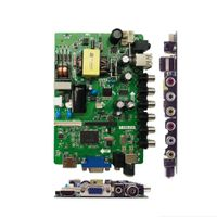 32 Inch LED TV Mother Board with USB Multimedia, Power Supply and Panel Inverter