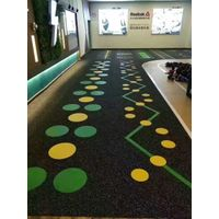 Rubber roll for commercial & gym flooring fitness