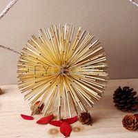 DIY Shiny Pom Pom Magic Balls for Celebration and Party Decorate