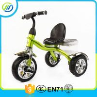 Color painting big tyre metal baby tricycle thumbnail image