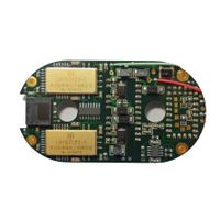 Micro imager electrode plate acquisition module