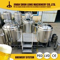 new design 500l 800l 1000l beer brewery equipment, beer brewing equipment, beer making machine