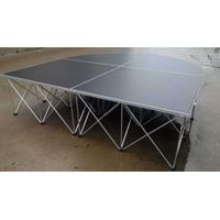 waterproof plywood board aluminum riser folding stage for wedding