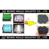 OEM Customized Injection Plastic Auto Parts Engine cover Mould Tooling
