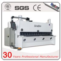 Hydraulic automatic guillotine steel cutting machine