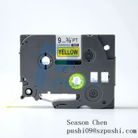 TZe-621 TZ-621 TZe621 TZ621 Label Tape Compatible for P-touch PT-D400 PT-D210 PT-1750 PT-7500 PT-D20