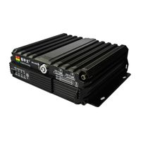 GPS 3G WIFI 4 Channels 960H 2*SD card Mobile DVR