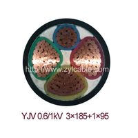 0.6/1KV XLPE insulated PVC sheathed power cable