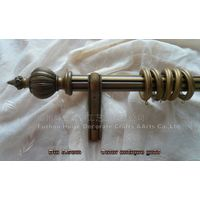 shower curtain poles for wooden