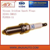 Manufactory Spark Plugs for Nissan Spark Plug 22401-5m015 Plfr5a-11 High Power Working 50000 Kms