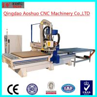 China loading and unloading syntech control system 4x8 ft cnc router