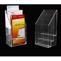 Customized Transparent PMMA Acrylic Brochure Holder