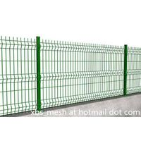 wire mesh fence panel