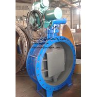 motorized butterfly valve for power plant
