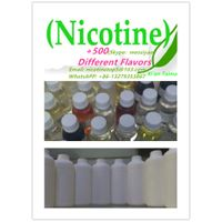 We hot sell USP 1000mg/ml Nicotine used for E-Liquid/E-juice