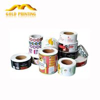 China low price high quality custom printed label logo sticker printing lables factory
