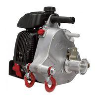 Portable Winch Gas-Powered Capstan Winch - 2,200-Lb. Pulling Capacity, 2.1 HP, Honda GHX-50 Engine thumbnail image