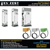 All Electric Cars Charging Station manufacturers exporters suppliers distributors dealers in India