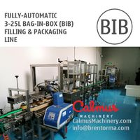 Fully-automatic 3-25L Bag in Box Filling Machine BIB Packaging Line