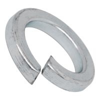 galvanized washer spring