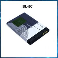 3.7V Li-ion rechargeable mobile phone battery bl-5c for Nokia E50 E60 N70 N71 N72 N91, factory OEM thumbnail image