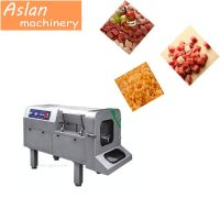 frozen meat cutting machine/chilled fish cutter for sale/ home vertical meat cube dicing machine