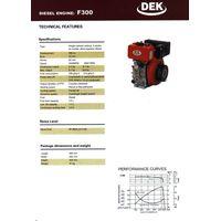 air-cooled diesel/gasoline generator set, engine, pump, sprayer, tiller thumbnail image