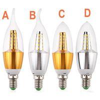 7W CREE Chip Scob LED Candle Lamp Bulb thumbnail image