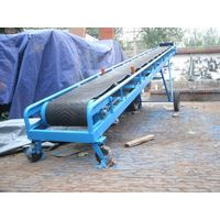 flexible and used rubber belt conveyor,PVE bel conveyor,inclined belt conveyor