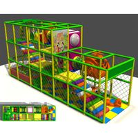 HLB-I17098 Indoor Kids Play Structures Small Child Playground thumbnail image