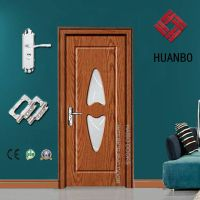 Swing PVC Door for Interior Prices with Handle