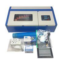 Mini portable laser engraver 2030 40w rubber stamp laser engraving machine