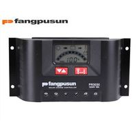 Fangpusun solar charge controller PR 2020 20A PWM control 12V 24V solar regulator
